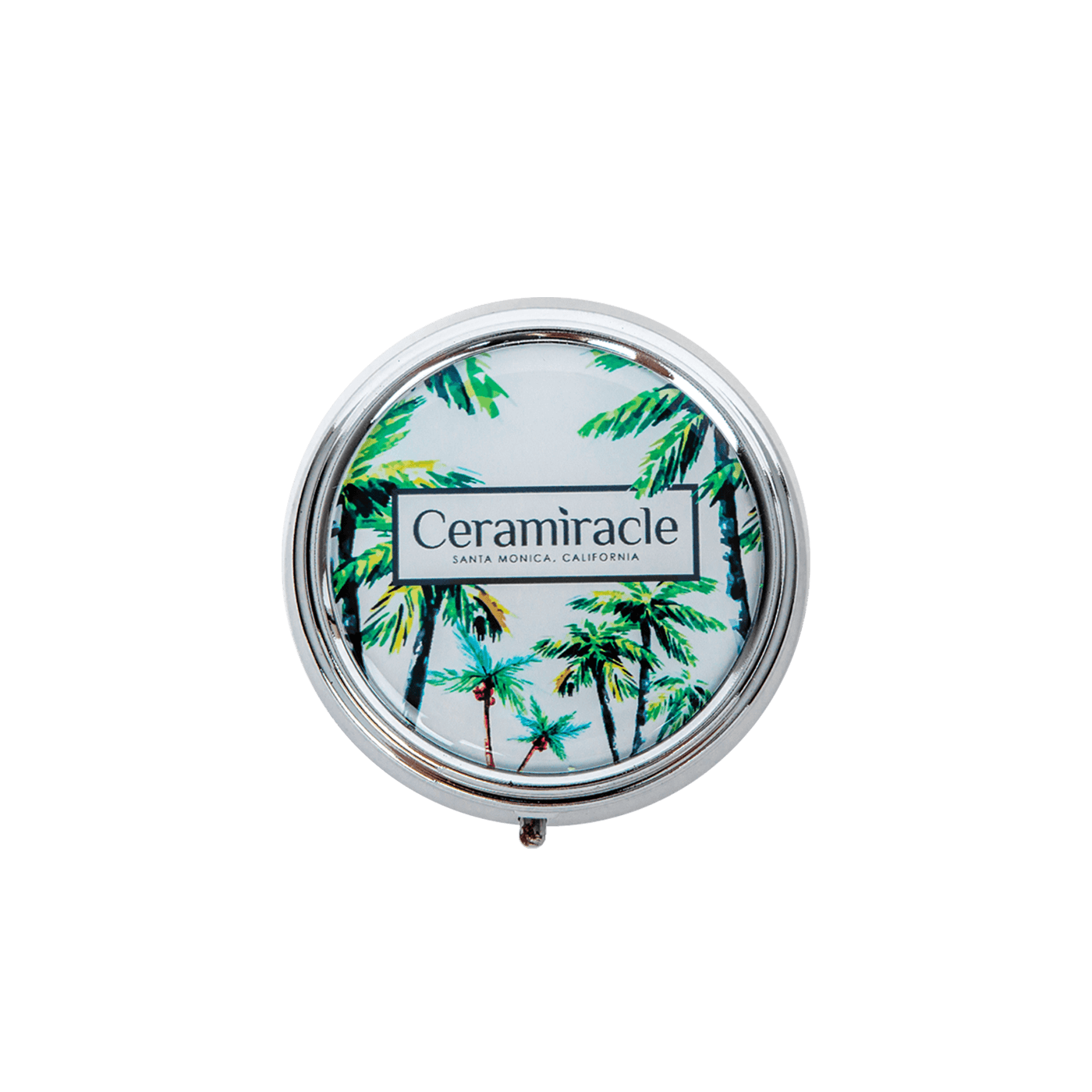 Palm Trees Pill Case